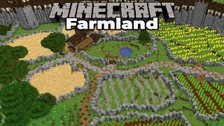How to Build Custom Farmland in Minecraft 1.14 : Single Player Survival