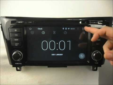 nissan qashqai car audio system android dvd gps navigation. Black Bedroom Furniture Sets. Home Design Ideas
