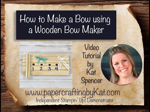 How to Make a Bow using a Wooden Bow Maker