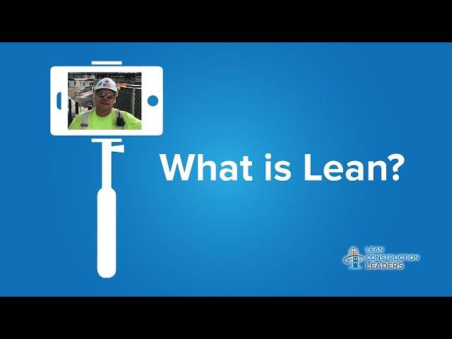 Joe Berg - What is Lean?