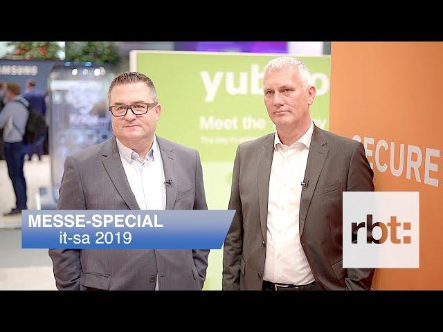 Interview mit Thomas Hruby und Georg Thoma, sysob IT-Distribution // it-sa 2019