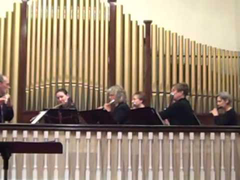 Baroque Hoedown Windham Flute Ensemble