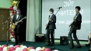 25/05/2012 - Lve in School - Pink Floyd - Another Brick In The Wall (Part II) - Cover