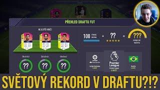 PŘEKONÁME SVĚTOVÝ REKORD?!? FUT DRAFT #1 | FIFA 18 CZ