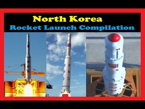 Rocket Launch Compilation (North Korea) 🚀 | Go To Space