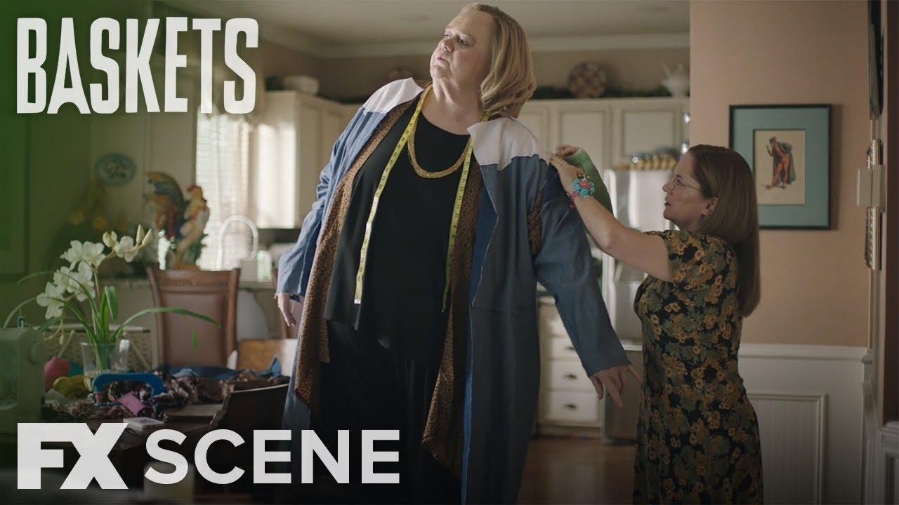 Download Baskets | Season 3 Ep. 1: Making Christine's Dress Scene | FX