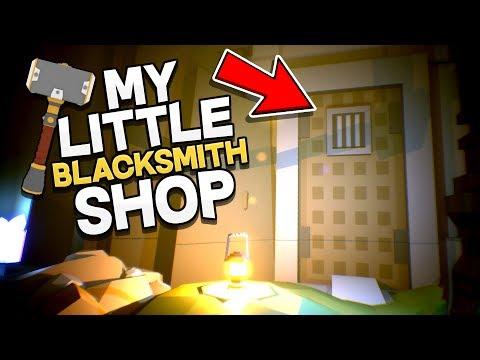 My Little Blacksmith Shop - DOORWAY IN THE CAVE...Huge Update! - My Little Blacksmith Shop Gameplay