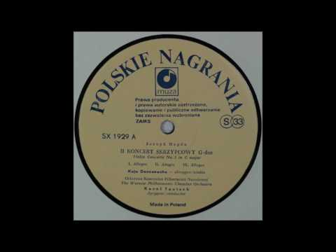 Haydn, Violin Concerto G Major, Kaja Danczowska, Violin