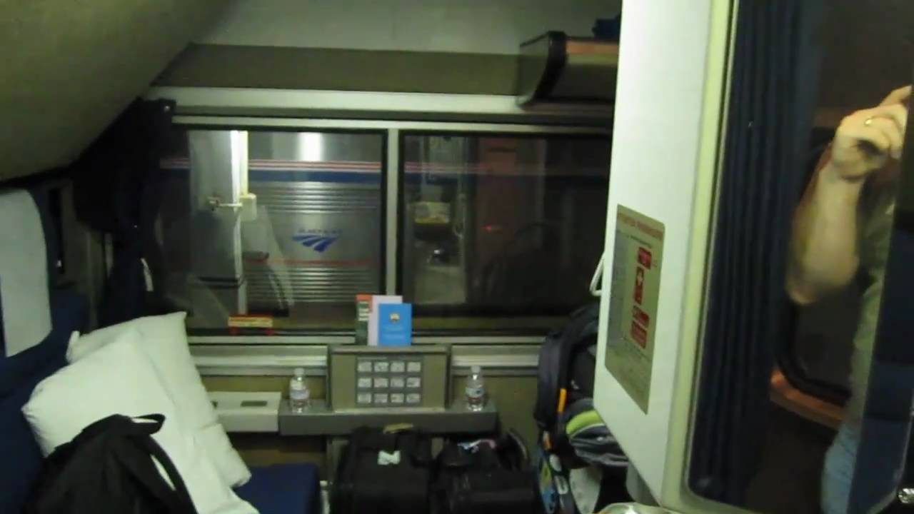 Amtrak Bedroom Amtrak Superliner Bedroom  Youtube