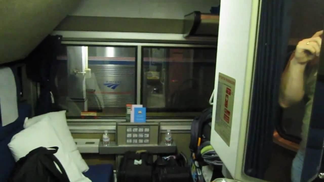 amtrak superliner bedroom - youtube