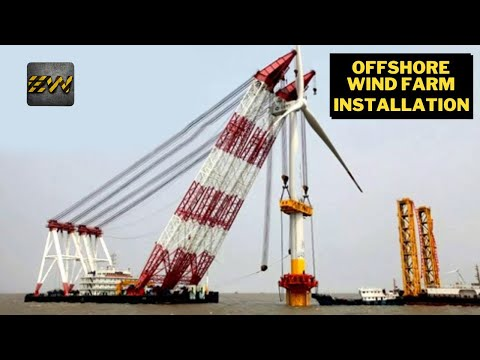 Offshore Wind Farm - Video