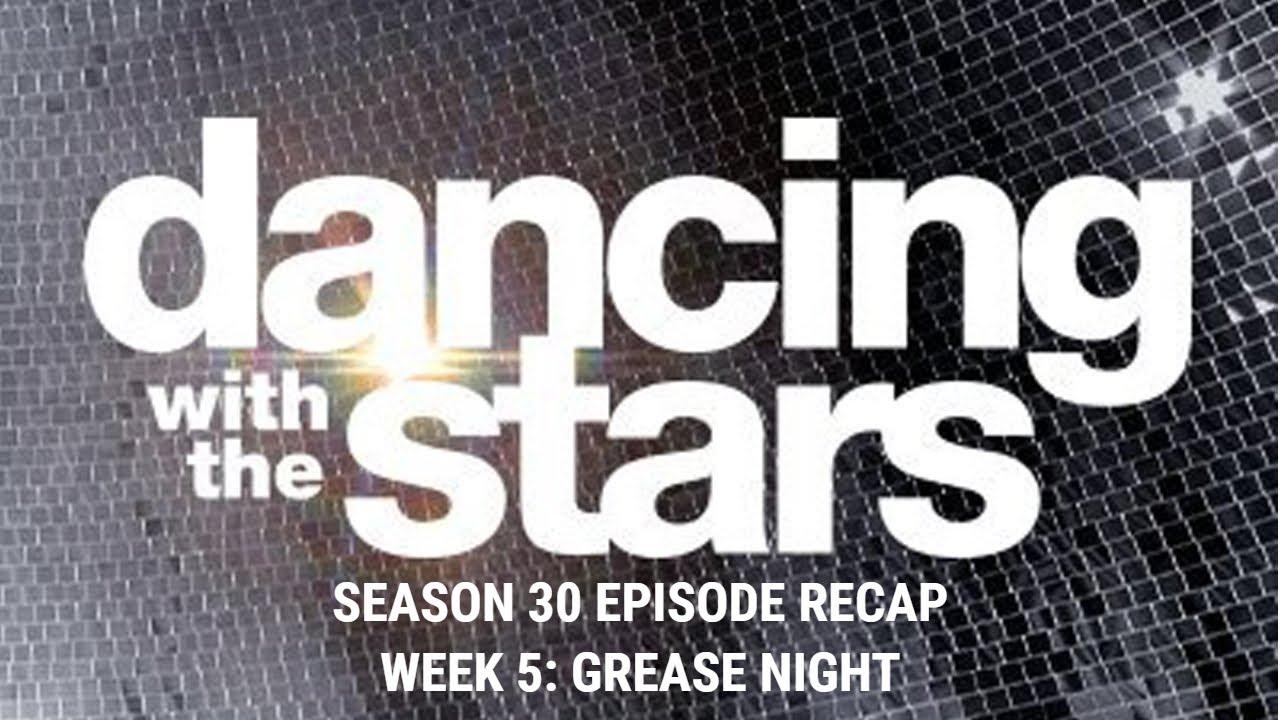 Download DWTS Season 30 Episode Recap   Week 5: Grease Night