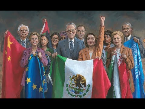Jon McNaughton NATIONAL EMERGENCY 16x24 Signed Donald Trump Border Control Print
