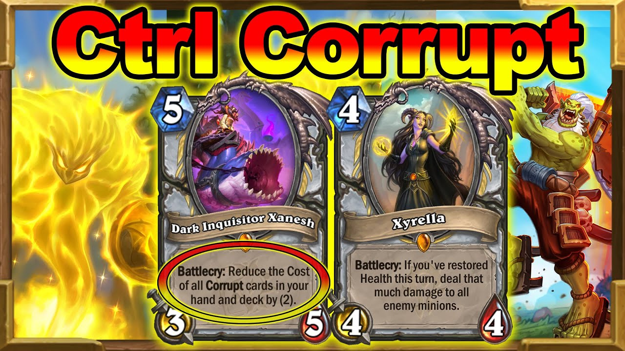 New Control Corrupt Priest! Even Stronger After Mage And Paladin Nerfs! Barrens | Hearthstone