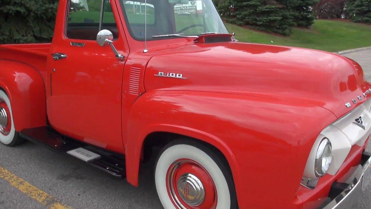 Vintage Mercury M 100 Truck In Details Youtube
