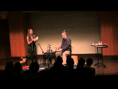 Jean Rohe & Rogerio Boccato - Percussion and Voice DUO - Gago Grego (Xangai)