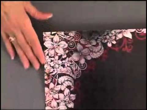 Black Silver Floral Foil Papers By Hot Off The Press Inc