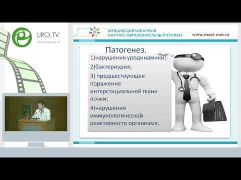 Умурзаков Б К - Пиелонефрит эпидемиология, этиология, диагностика и лечение