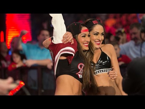 Nikki and Brie Bella's big reveal on #BellaDay