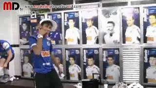 Neymar y todo el Santos bailan al ritmo del famoso