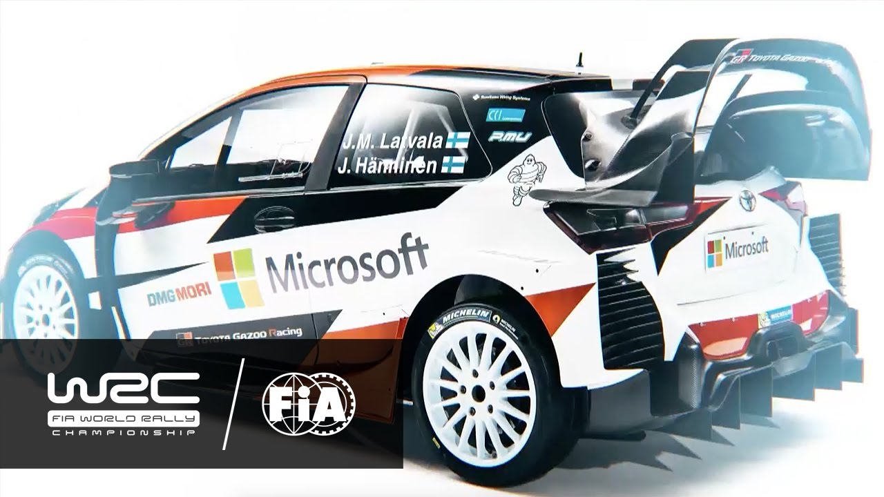 WRC 2017: World Rally Cars and Drivers - YouTube