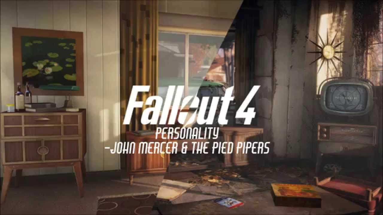 Personality - Johnny Mercer & The Pied Pipers - Fallout 4 Soundtrack