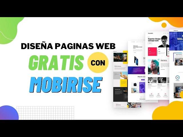 ✔️ Crear página web fácil y gratis con Mobirise