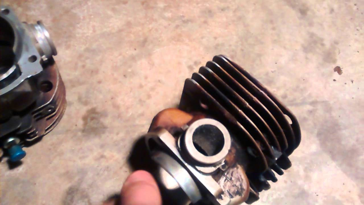 Chainsaw cylinder porting