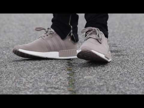 c0523ad39dacd Unboxing Restock Adidas Originals NMD R1 Cream Tan Beige + On Feet ...
