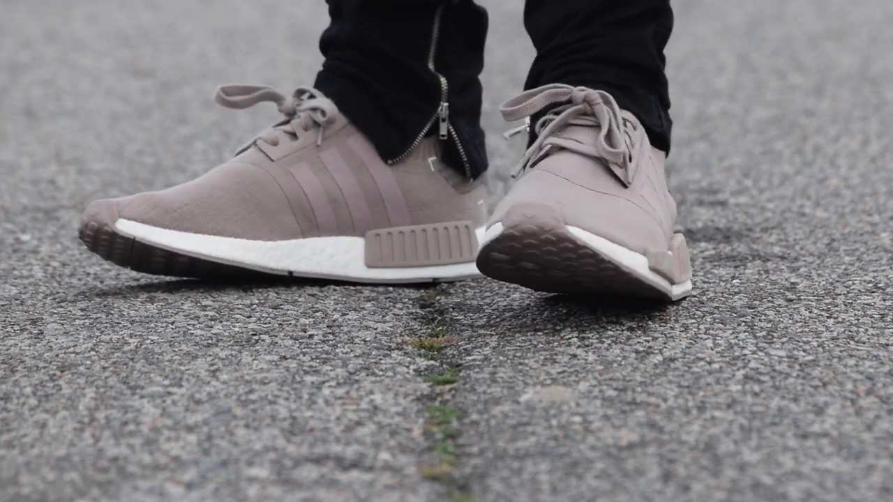 b0a6c9fbf FRENCH BEIGE PRIMEKNIT NMD REVIEW + ON FEET - YouTube
