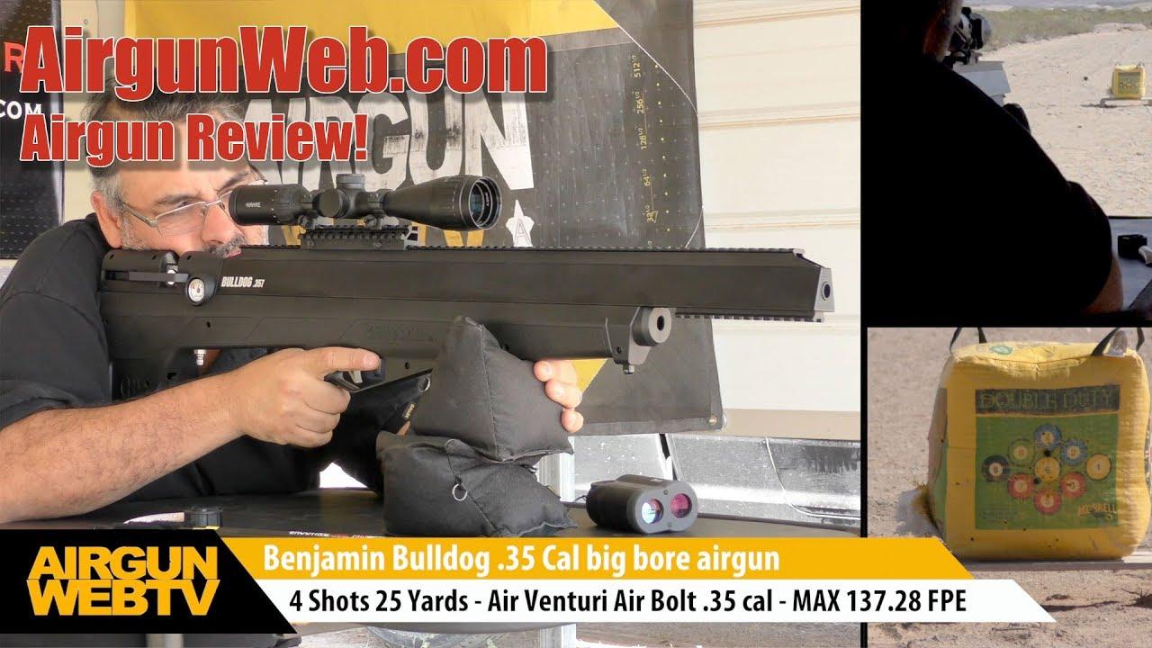 Benjamin Bulldog Take 2 - Pellets, Bullets, & Arrows OH MY! - Airgun Review  by AirgunWeb