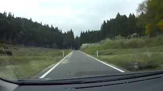 鳥取・岡山県道7号 智頭勝田線 右手峠 美作からR373智頭迄 車載動画