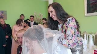 Весільний обряд  нареченої ВЕЛЬОН (ФАТА), БАТЬКІВСЬКЕ БЛАГОСЛОВІННЯ. весілля в Перегінську WEDDING