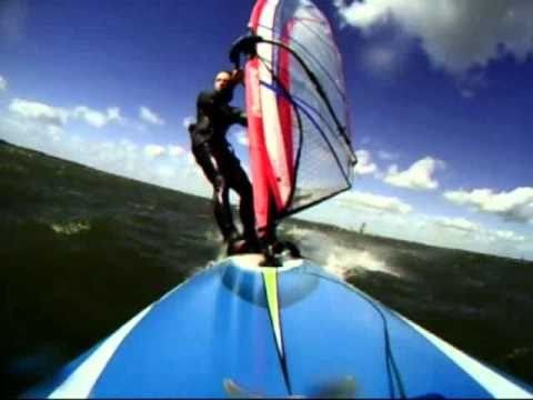 Windsurfing - fast days in Holland