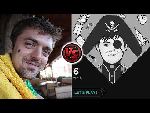 agadmator vs Magnus Carlsen! (the app)