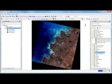 Opening Landsat Imagery in ENVI 5