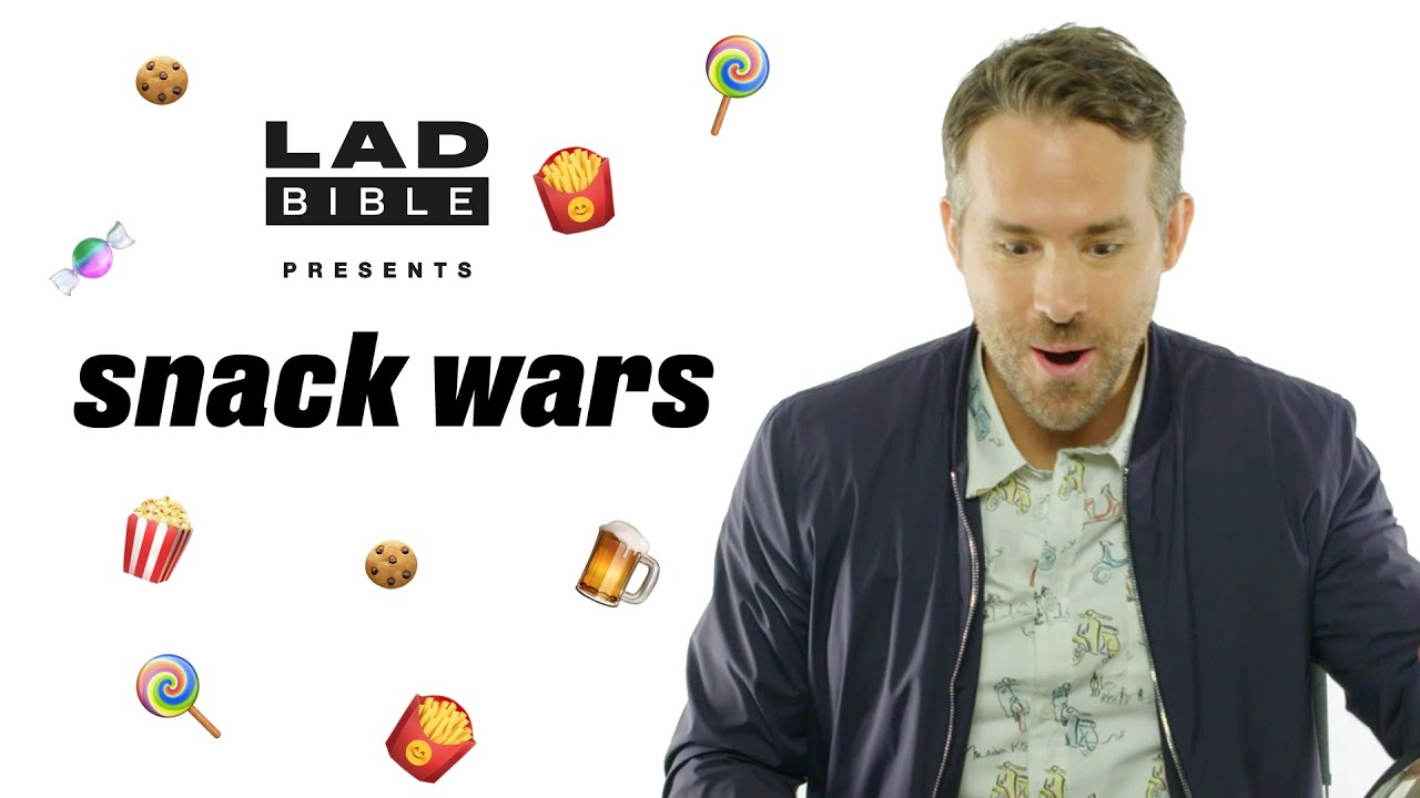 Pokémon: Detective Pikachu's Ryan Reynolds Plays Snack Wars | UK V Canada