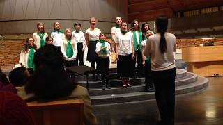 151219 Crowden Chamber Singers at Cathedral of Christ the Light w/ SFBC: Deck the Halls in 7/8