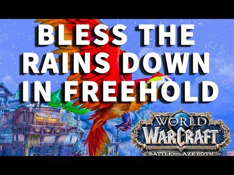 Bless the Rains Down in Freehold WoW Achievement