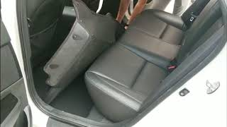 3D luxury leather car mat installation display!
