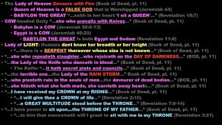Egyptian Texts & Bible Prophecy (Part  2)