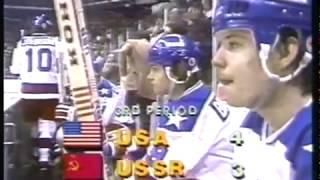 Olympics - 1980 Lake Placid Olympics - Hockey - USA VS USSR -  The Miracle On Ice