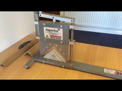 Paperfox EVV-3 Cardboard Edge Protector Cutter