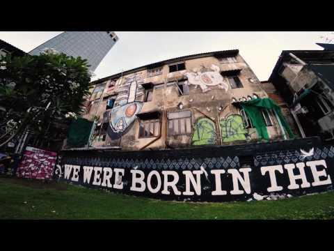 Bangkok Wall Art งานศิลปะบุกรุก