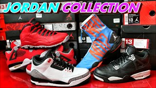 MY AIR JORDAN SNEAKER COLLECTION