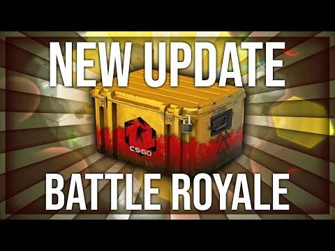 BIG CS:GO BATTLE ROYALE UPDATE & NEW DANGER ZONE CASE (CS:GO FREE TO PLAY)