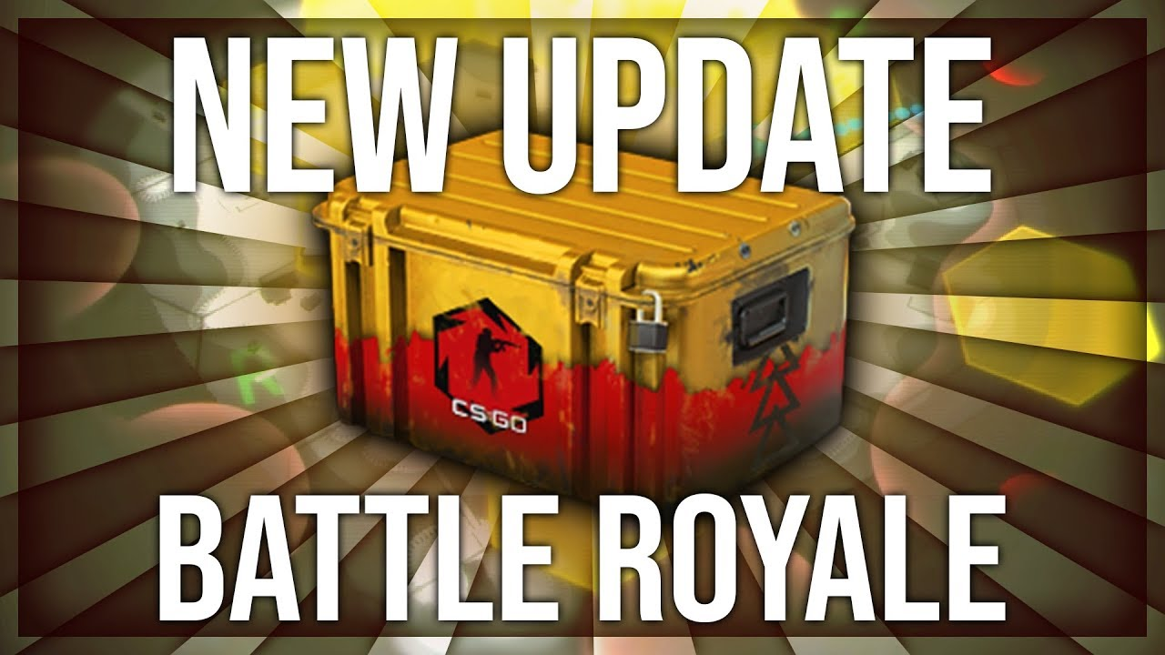 BIG CS:GO BATTLE ROYALE UPDATE & NEW DANGER ZONE CASE (CS:GO FREE TO PLAY)
