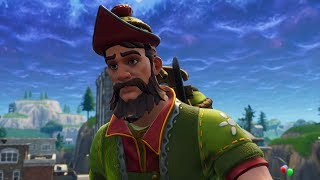 SKIN OF ROBIN HOOD! NEW SKIN HACIVAT AND PLAYING WITH SUBSCRIBERS! (Fortnite Battle Royale)
