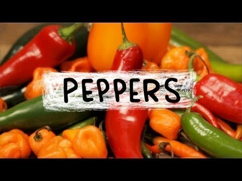 Superfoods - Peppers