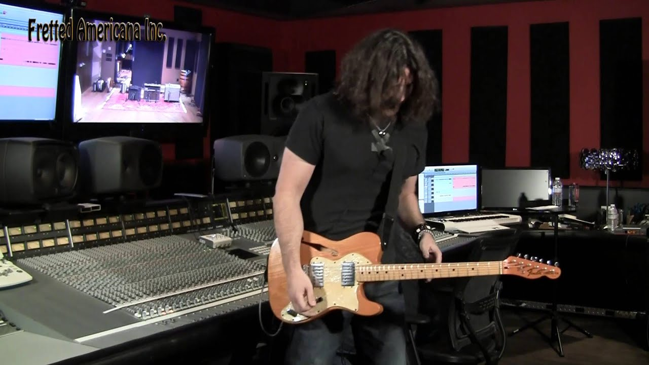 Phil X Sells Sanctuary 1973 Fender Telecaster Thinline Youtube Wiring Diagram For 1969